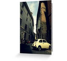 CinqueCento Greeting Card
