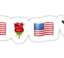 American Beauty/American Psycho Sticker