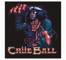 Crue Ball (sticker) by Lupianwolf