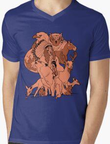 Rosemont. Mens V-Neck T-Shirt