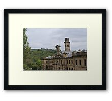 Salts Mill, Saltaire, Shipley, W Yorkshire, UK Framed Print