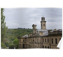 Salts Mill, Saltaire, Shipley, W Yorkshire, UK Poster