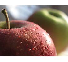 Apple freshness Photographic Print