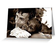 Ebony & Ivory Greeting Card