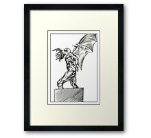 Cthulhu Rise Framed Print