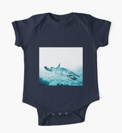 Turtle Gliding One Piece - Short Sleeve