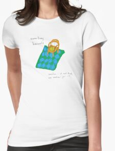 Courtney Barnett 'Sometimes' Album (w/ text) Womens Fitted T-Shirt