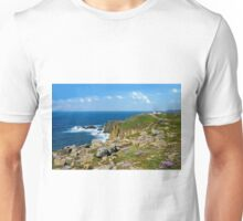 Lands End, Cornwall in May Unisex T-Shirt