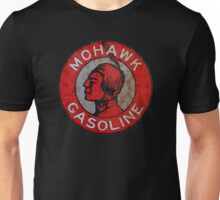 Mohawk Gasoline vintage sign rust version Unisex T-Shirt