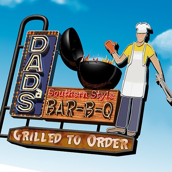 Dad's Bar-B-Q by Anthony Ross