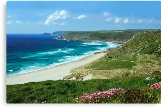 Whitesand Bay, Cornwall by rodsfotos