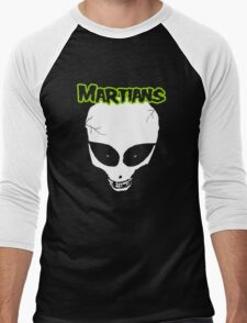 Misfits (Martians) Men's Baseball ¾ T-Shirt