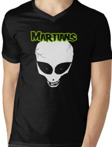 Misfits (Martians) Mens V-Neck T-Shirt