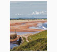 Northumbrian beach scene Kids Clothes