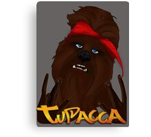 Tupacca Canvas Print
