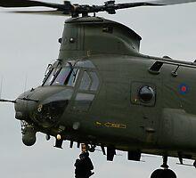 RAF Rescue team in action by buttonpresser