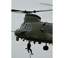 RAF Rescue team in action Photographic Print