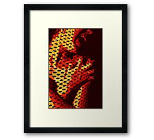 SOUL HOLES Framed Print