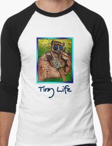 Tiny Life Men's Baseball ¾ T-Shirt