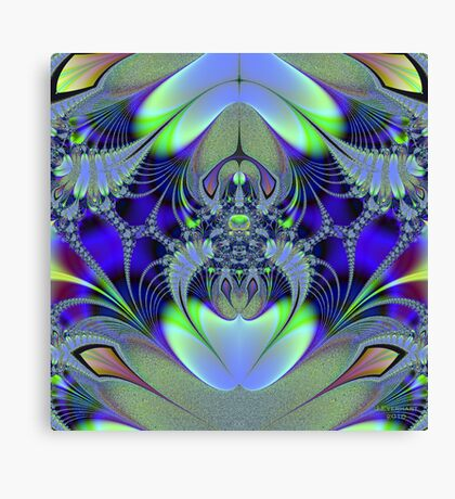 Web of Beauty and Perfection Canvas Print