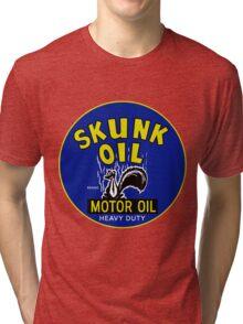Skunk Motor Oil Tri-blend T-Shirt