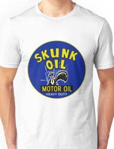 Skunk Motor Oil Unisex T-Shirt