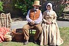 The Rope Maker And His Wife-Bridport Charter Day by lynn carter