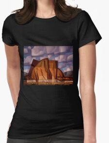 Citadel Butte Womens Fitted T-Shirt