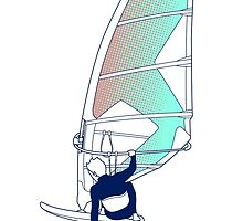 Flying Windsurfer! by Felip Ariza