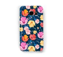 pattern of flowers tulips Samsung Galaxy Case/Skin