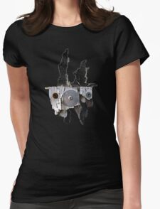 Funny Face Womens Fitted T-Shirt