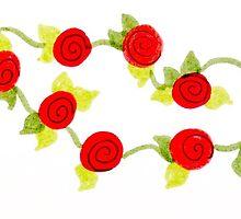 little roses by Grace Weesnawlen
