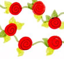 little roses Sticker