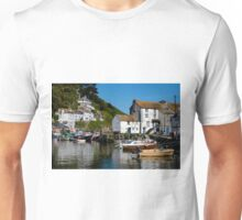 Polperro Harbour, Cornwall Unisex T-Shirt