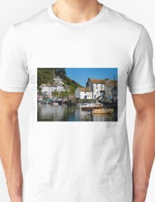 Polperro Harbour, Cornwall T-Shirt