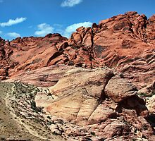 Rock of red by Tammy  (Robison)Espino