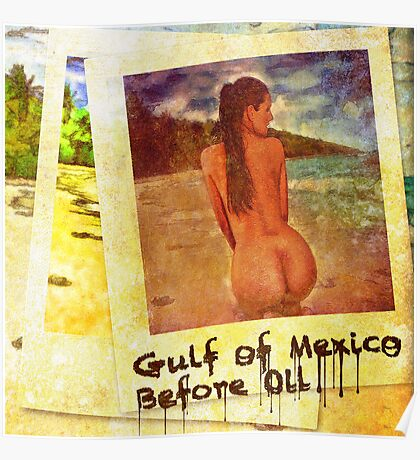 Gulf of Mexico Before Oil Poster