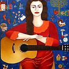"""Violeta Parra  and the song """"Thanks to Life """" by Madalena Lobao-Tello"""