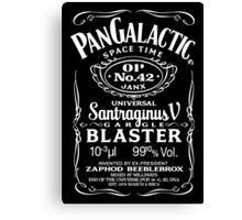 Pan Galactic Gargle Blaster - No. 42 Canvas Print