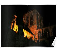 Symphony of dark and light York Minster Poster