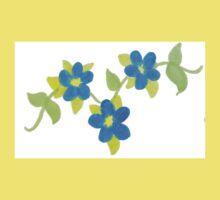 Blue flowers Kids Clothes