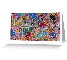 FIRE/WORKS - LARGE FORMAT - HORIZONTAL Greeting Card