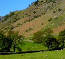 Deepdale Valley, the Lake District Sticker