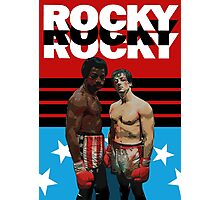 ROCKY the ultimate classic underdog movie T-SHIRT Photographic Print
