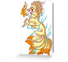 9tails Greeting Card