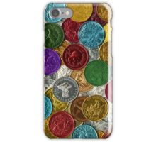 Vintage New Orleans Mardi Gras Doubloons iPhone Case/Skin