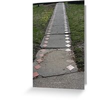 Paths and Life Greeting Card