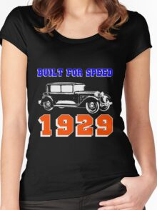 1929 SALOON Women's Fitted Scoop T-Shirt