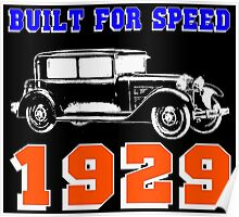 1929 SALOON Poster