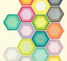 Honeycomb Layers by Cassia Beck
